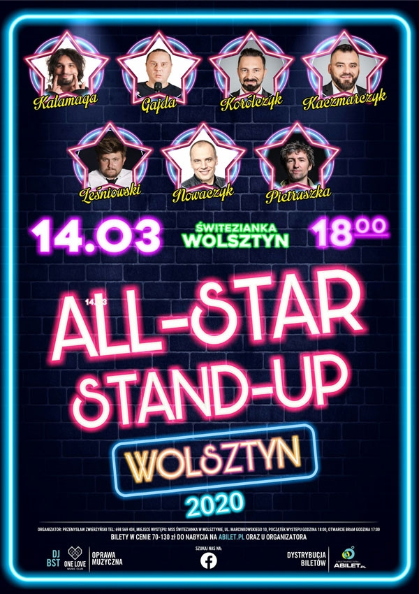 Bilety ALL-STAR STAND-UP